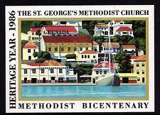 Grenada 1986 5$ St. George's Methodist Church Miniature Sheet Unmounted Mint