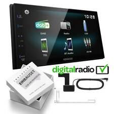 Kenwood DMX125DAB Digitalradio DAB-Antenne für Opel Tigra Twintop matt-chrome