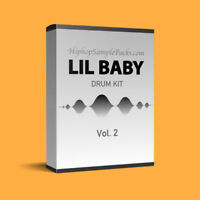 Lil Baby DRUM KIT Loops & Samples Vol. 2 Hip Hop SAMPLE PACK TRAP Wav FL Studio