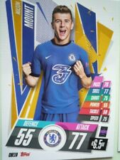 TOPPS MATCH ATTAX 2020/21 CHAMPIONS LEAGUE CHELSEA MOUNT BASE CARD COMB P&P