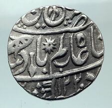 1805 1220AH INDIA Princely States BENGAL Presidency Old Silver Rupee Coin i82158
