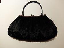 Designer OLGA BERG ~ Evening Bag ~ 25cmx15cmx4cm ~ Black