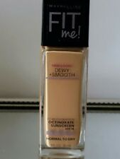 (1) New Maybelline Fit Me Normal To Dry Dewy+Smooth Foundation.
