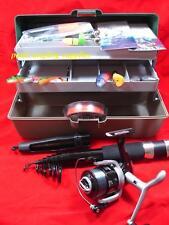 Sea Fishing Rod ,Reel Tackle Box Lures Weights & Tackle