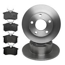 Rear Brake Kit Discs And Pads (245mm Solid/Lucas System) VW PASSAT 1.9 TDI 90-13