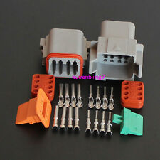 1 sets - 8 Pin Waterproof Electrical Wire Connector Plug DT04-8p and DT06-8S