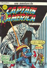 Artima / Arédit  Captain America    N° 21  série 1