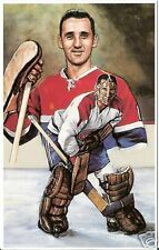 Jacques Plante Legends of Hockey Card #11