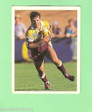 1993  BRISBANE BRONCOS  SELECT RUGBY LEAGUE  STICKER  #28  MICHAEL HANCOCK