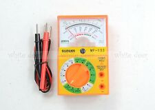 MF 133 Voltmeter Ammeter Ohm Multimeter Battery & Leads Electric Pocket Size