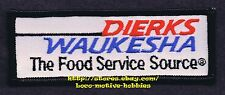 """LMH Patch  DIERKS WAUKESHA FOODS Wholesale Distributor FOOD SERVICE SOURCE 4.3"""""""