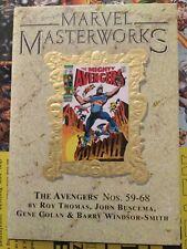 Marvel Masterworks The Avengers Vol 84 Direct Market Edition NM
