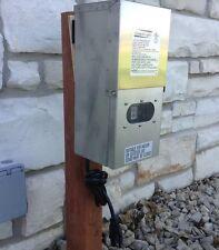 300 Watt WSS Stainless Steel Low Voltage Transformer Landscape Garden  Lighting