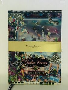 Christian Lacroix Fete Vos Jeux / Game House 10x7 Hardcover Journal Popup Lined