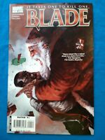 BLADE 4  MARVEL 2007 SANTA-KLAWS UNCERTIFIED HUGE SALE!