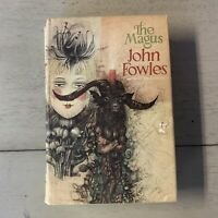 The Magus by John Fowles Hardcover w/ DJ Book Club Edition Vintage Collectible