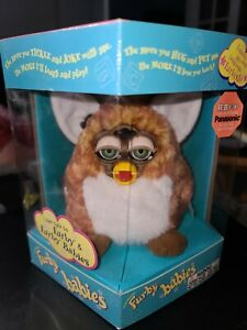 Electronic Furby SEA HORSE BABY Toy Figure Tiger Electronics Seahorse NEW