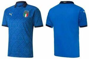 Italien Trikot Heim Blau EM 2020-2021 NEU