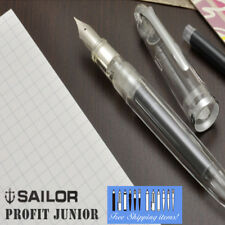Sailor Fountain Pen Profit Junior Transparent Clear Body M-F Nib 11-9924-300