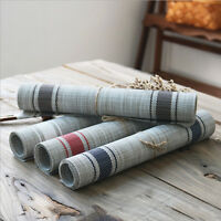 Set of 4 Tableware Placemats PVC Place Mats Table Coasters Kitchen Dining Room