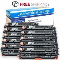 10PK Black Toner Cartridge For HP CF380A 312A LaserJet Pro MFP M476dn M476nw
