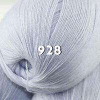 Sale 1 Skein x50g LACE Soft Acrylic Wool Cashmere hand knit Crochet Wrap Yarn 28