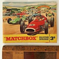VINTAGE 1965 LESNEY MATCHBOX 1-75 TOY CAR CATALOGUE KING-SIZE YESTERYEARS EXC!!!
