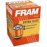 FRAM Extra Guard PH3506, 10K Mile Change Interval Spin-On Oil Filter
