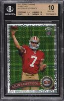 COLIN KAEPERNICK ROOKIE 2011 Topps Chrome Xfractor #25. BGS 10!  FLAWLESS!