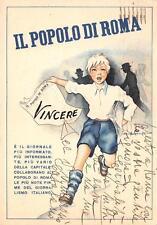 """A6547) GIORNALE """"IL POPOLO DI ROMA"""". VIAGGIATA NEL 1941."""