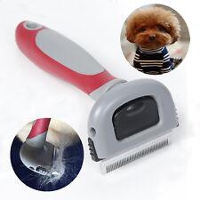 Pet Grooming Brush Comb Shedding Rake Trimming For Dog Cat Hair Fur Remove Tool