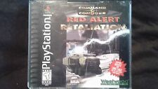 Command and Conquer Red Alert Retaliation Sony PS1 PlayStation Complete Tested