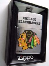ZIPPO LIGHTER CHICAGO BLACKHAWKS NHL HOCKEY NEW FAN GIFT BOX  2017 DESIGN