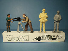 4  FIGURINES  1/43  SET 252   IMAGE  ET  SON   VROOM  1/43  UNPAINTED  FIGURES