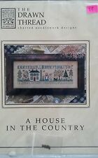 The Drawn Thread A House in the Country Counted Cross Stitch Chart Charm