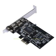 PCI Express x1 PCI-E FireWire 1394a IEEE1394 Controller Card for Laptop Windows