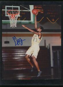 2002 Pre Rookie LEBRON JAMES Signed 8x10 Photo Autographed AUTO w/ COA