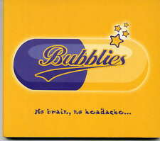BUBBLIES -  No brain, no headache - CD album