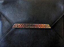 Stella & Dot ~ Avalon Bracelet Clutch ~ Black & Gold ~ NEW