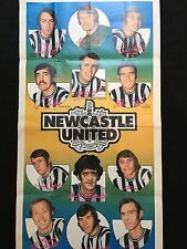 A&BC Gum Newcastle United Football Club 1972-73 No. 9 Giant Team Poster