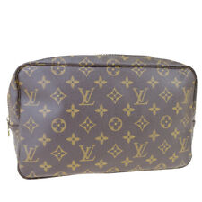 Auth LOUIS VUITTON Trousse Toilette 28 Clutch Hand Bag Monogram M47522 69ET724