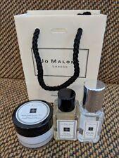 Jo Malone Travel Sizes 0.5 Oz Wood Sage Cream-Cologne 0.5 Oz Lime Basil wash Lot