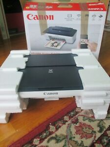 Canon Pixma MG-3022 All In One Wireless Printer black/ White # KLEH01790 text