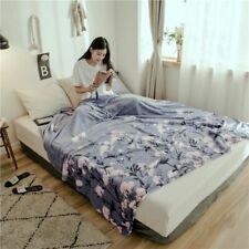 Lightweight Warm Blankets Bedspread Cover Comfy Soft Travel Blanket Anti-pilling