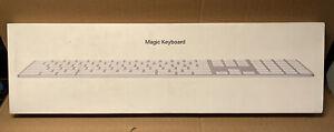 Magic Keyboard with Numeric Keypad - Arabic - Silver   mq052ac/a New in Box