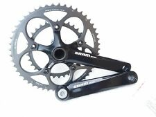 Sram Apex GXP Double Road Bike Crankset Alloy Black New 170mm Powerglide