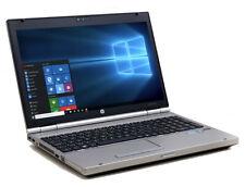 """HP Elitebook 8560p  i5-2520 2.5 GHz, 4GB, 120GB  SSD HD  15.6""""  Win 7/10"""