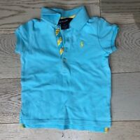 Ralph Lauren Girls Blue Polo Size 3