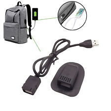 1x External USB Charging Port Interface Adapter Data Charging Cable for Backpack