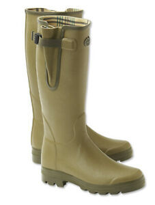 NEW!  LE CHAMEAU Vierzon Jersey Boots! size 44 (11) Imported!